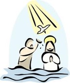 Jesus was baptised. Why?